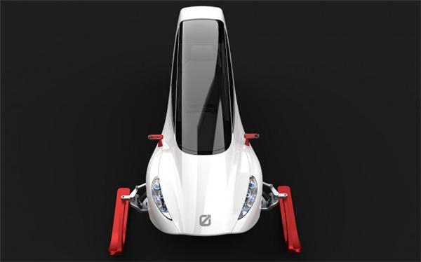 炫酷的概念雪地车设计(六)