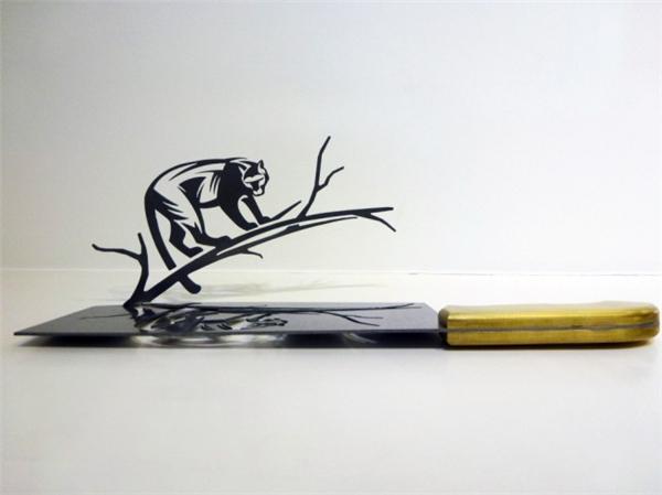 刀影中的雕刻