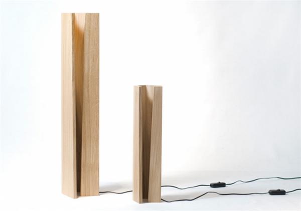 营造自然光的橡木灯(二)