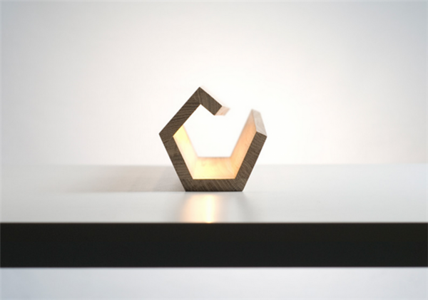 营造自然光的橡木灯(四)