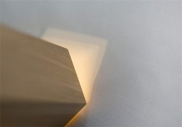 营造自然光的橡木灯(六)