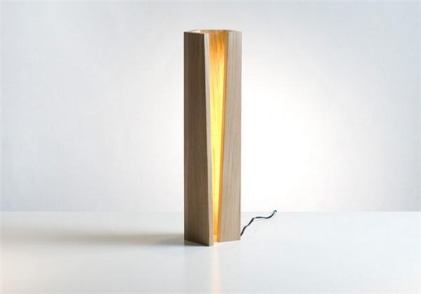 营造自然光的橡木灯(七)