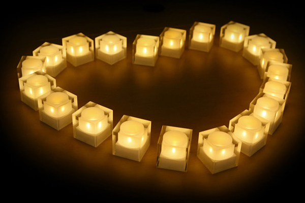 太阳能电子蜡烛灯(四)
