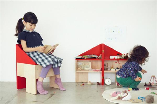 贴心的儿童玩具屋座椅(五)