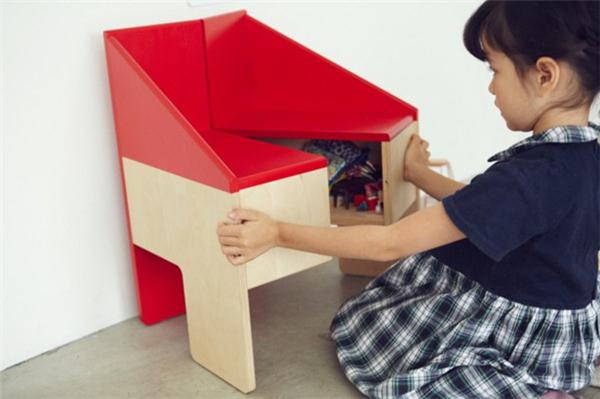 贴心的儿童玩具屋座椅(六)