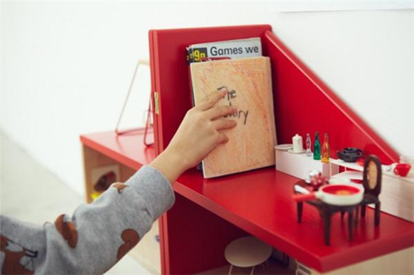 贴心的儿童玩具屋座椅(七)
