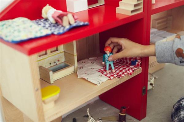 贴心的儿童玩具屋座椅(八)