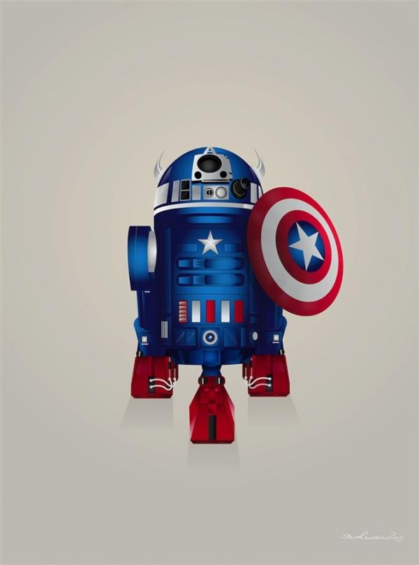 超级英雄系列形象设计
