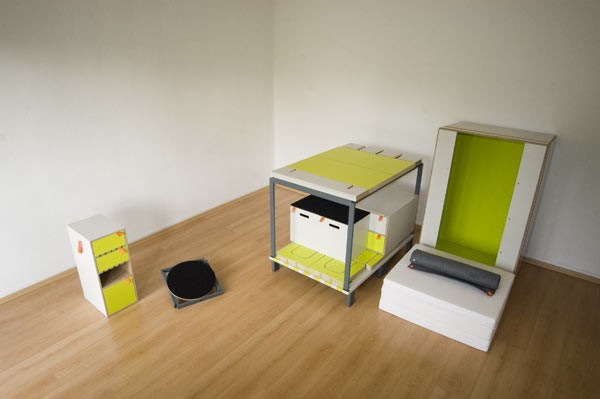 Casulo 整套卧室家具(二)