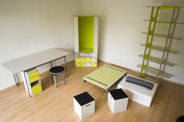 Casulo 整套卧室家具(三)