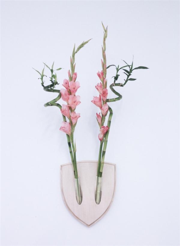 墙壁挂花器(五)
