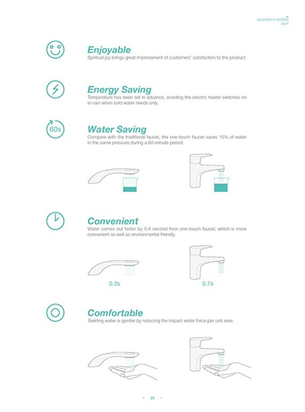 涡轮旋转水龙头设计(八)