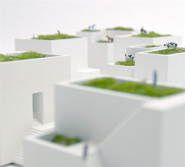 小小的房舍花盆设计(二)