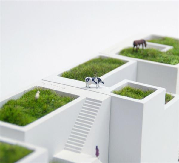 小小的房舍花盆设计(四)