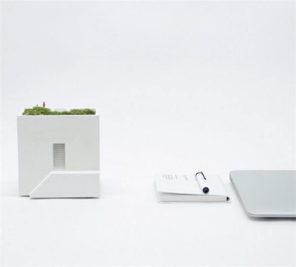 小小的房舍花盆设计(六)