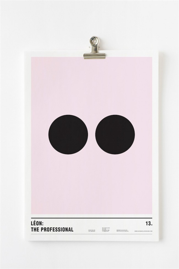 极简主义风格电影海报(十)