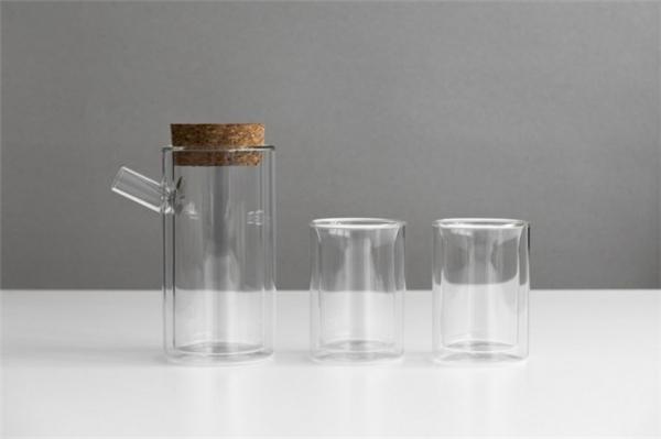 不烫手双层玻璃茶具(二)
