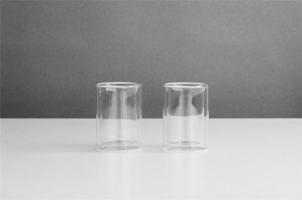 不烫手双层玻璃茶具(三)