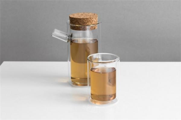 不烫手双层玻璃茶具(五)