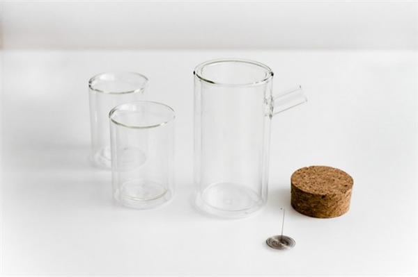 不烫手双层玻璃茶具(六)
