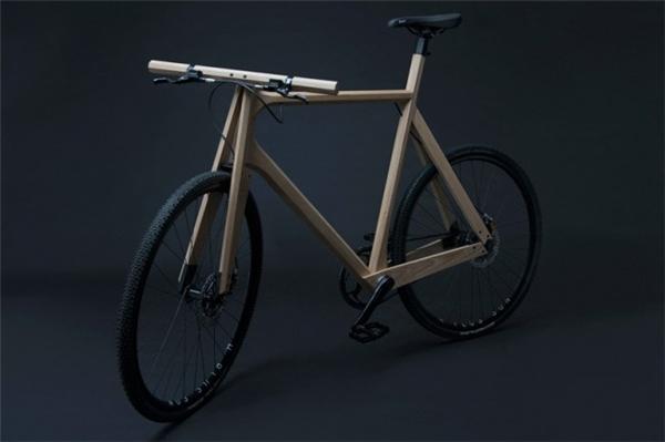 全柳木减震单车设计