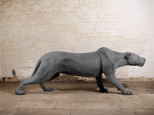 栩栩如生的钢丝雕塑(六)