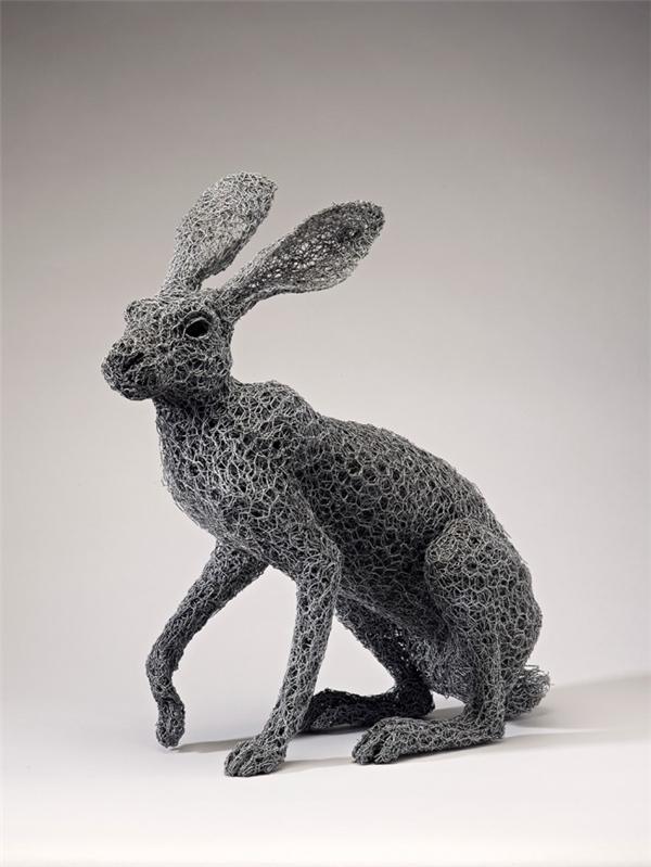 栩栩如生的钢丝雕塑(八)