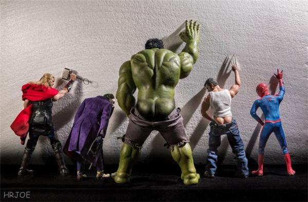超级英雄们的日常生活