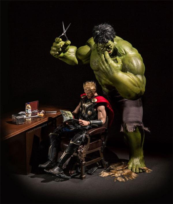 超级英雄们的日常生活(六)
