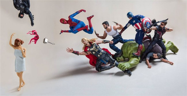 超级英雄们的日常生活(九)