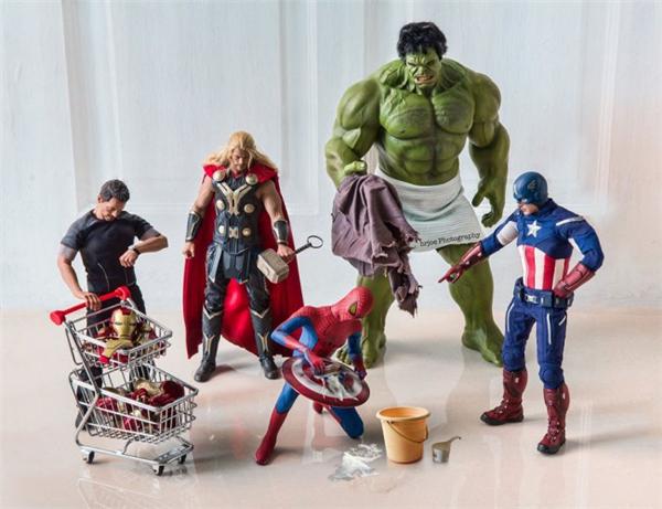 超级英雄们的日常生活(十)