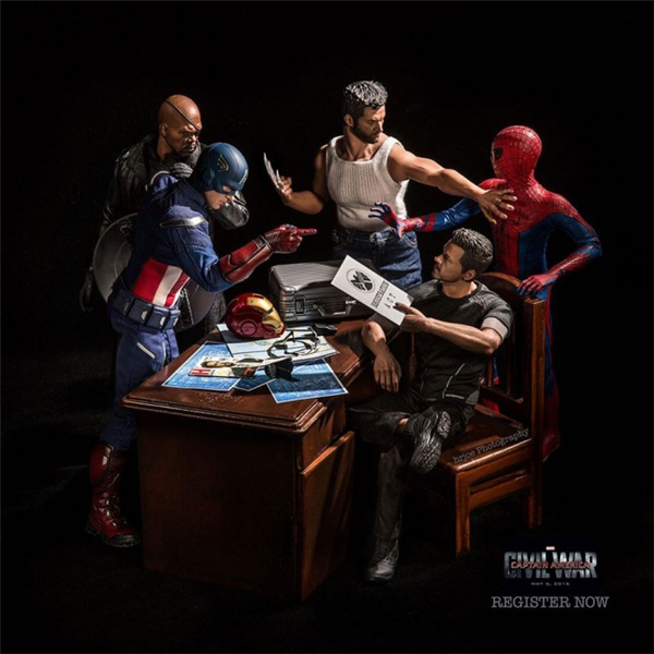 超级英雄们的日常生活(十三)
