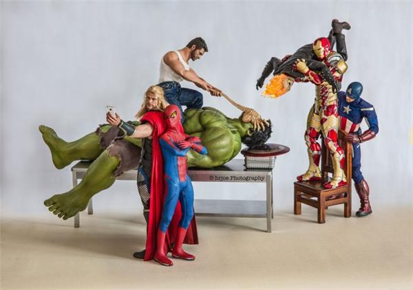 超级英雄们的日常生活(十七)