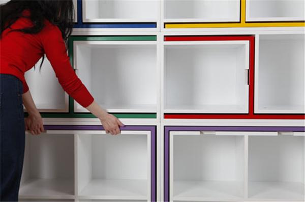 隐藏在书柜中的桌椅(六)