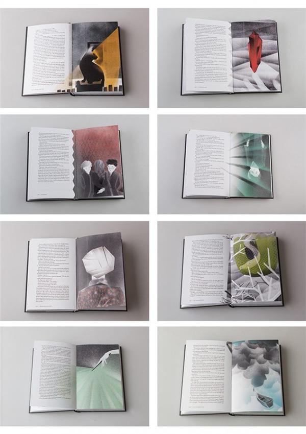 哈利波特书籍设计(九)