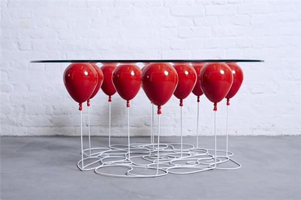 气球咖啡桌设计(二)