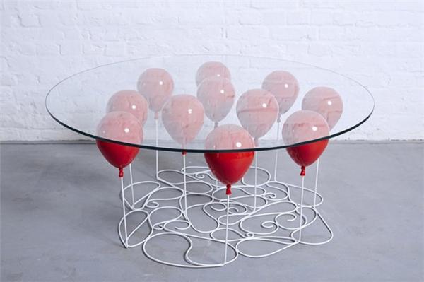 气球咖啡桌设计(三)