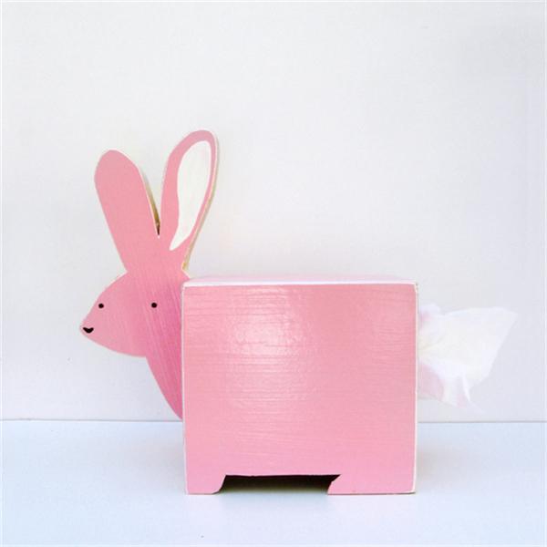 卡哇伊的动物纸巾盒(三)