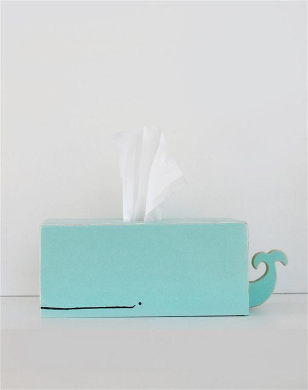 卡哇伊的动物纸巾盒(四)