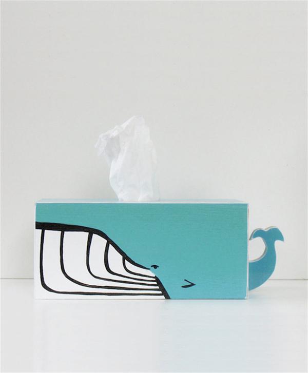 卡哇伊的动物纸巾盒(六)