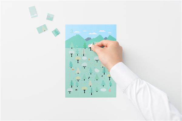 Sticker Calendar 四季日历(五)