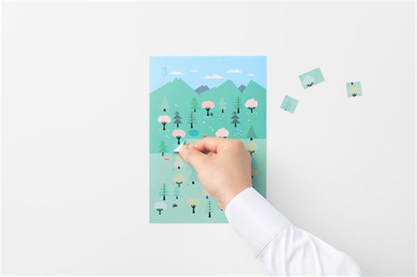 Sticker Calendar 四季日历(六)