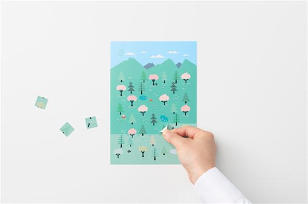 Sticker Calendar 四季日历(七)