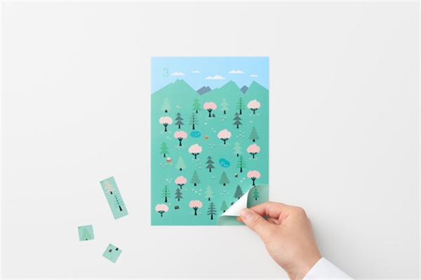 Sticker Calendar 四季日历(八)