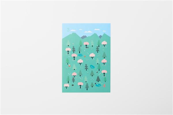 Sticker Calendar 四季日历(九)