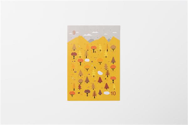 Sticker Calendar 四季日历(十)