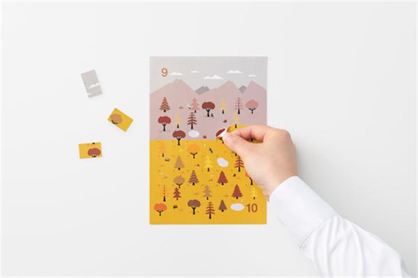 Sticker Calendar 四季日历(十二)