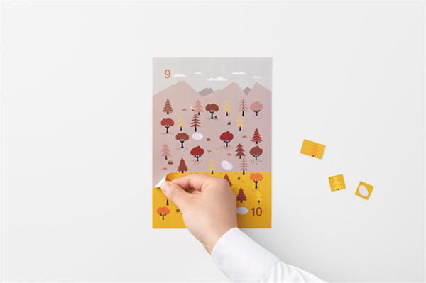 Sticker Calendar 四季日历(十三)