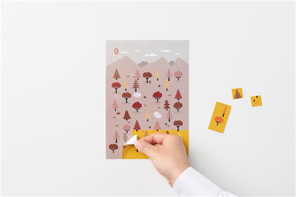 Sticker Calendar 四季日历(十四)