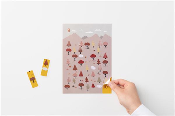 Sticker Calendar 四季日历(十五)